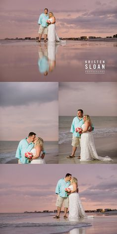 Sunset Vistas Beachfront Suites Treasure Island Florida Wedding