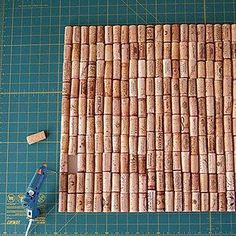 Hot-glue your wine cork collection onto nonslip shelf liner to make a custom bath mat. | 17 DIY Bathroom Upgrades You Can Actually Do