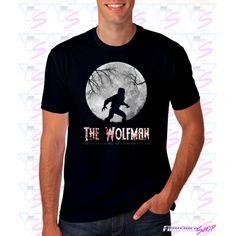 Camiseta The Wolfman | Tienda camisetas cine
