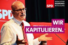 Der Postillon: Exklusiv: Erste SPD-Wahlplakate für 2017 geleakt