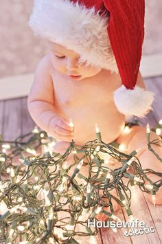 Housewife Eclectic: 10 Ways to Remember Baby's First Christmas