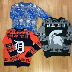 Spread holiday cheer with with one of our team sweaters. #OnePride #GoTigers #GoGreen #MyRallyHouse