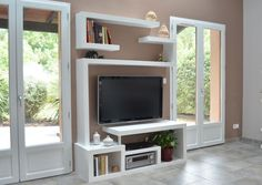 Tv stand with shelves simple decoration floating network shelf creative design stylish small media cabinet 3 . tv stand with shelves off three glass cabinet Floating Tv Stand, Floating Shelves Diy, Small Media Cabinet, Tv Stand Shelves, Wall Shelves, Cube Shelves, Living Tv, Rack Tv, Diy Tv Stand