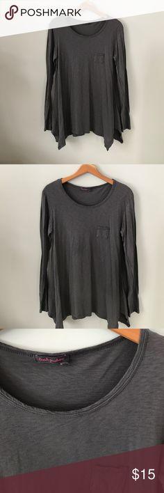 Selling this Fresh Produce gray tunic top on Poshmark! My username is: linda450. #shopmycloset #poshmark #fashion #shopping #style #forsale #Fresh Produce #Tops
