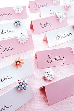 retro place cards