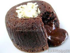 Vulcan de ciocolata prajitura