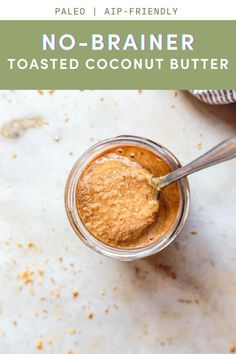 20 reviews · 13 minutes · Vegan Gluten free Paleo · This Toasted Coconut Butter recipe is a no-brainer! Just toast some shredded, unsweetened coconut flakes in a skillet, and then blend them up in a food processor. That's it! Coconut Butter Recipes, Coconut Sugar, Coconut Flour, Peanut Butter, Vegan Gluten Free, Dairy Free, Toasted Coconut, Paleo Recipes, A Food