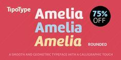Amelia Rounded - Webfont & Desktop font « MyFonts