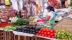 The beautiful and amazingly fresh produce at Mercado de Medellin. Casa Jacaranda Cooking class and Market Tour in Mexico City.