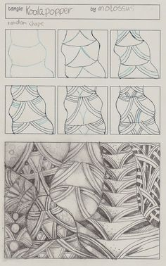 Life Imitates Doodles: My Tangle Pattern Koolapopper