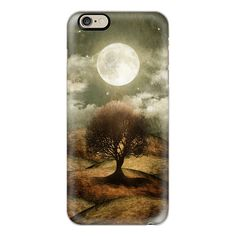 Once upon a time... The lone tree. - iPhone 6s Case,iPhone 6... ($40) ❤ liked on Polyvore featuring accessories, tech accessories, iphone case, iphone cover case, iphone cases, apple iphone cases and slim iphone case