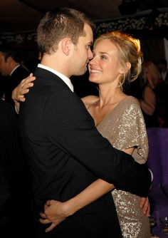 Diane Kruger Dating Joshua Jackson | Joshua Jackson and Diane Kruger shared an embrace at the Screen Actors ...