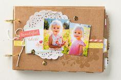 Create an adorable mini album for mom with the Mini Memories Simply Created Album. #MadeForMom