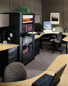 Rotary Storage can provide secured storage for files and provide drawers for storage of smaller items or office supplies.