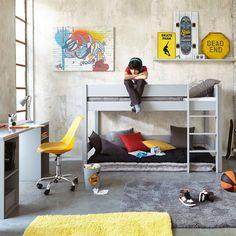 Toile graffiti multicolore 80 x 110 cm | Maisons du Monde
