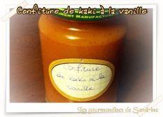 Confiture de kaki à la vanille