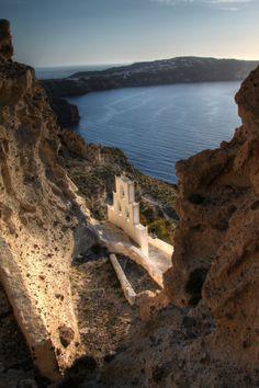Agios Nikolaos - Santorini - Greece (byKlearchos... | Amazing Places