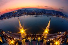 I've Spent 5 Years Hunting For The Perfect Lights To Show The Real Beauty Of Budapest via BoredPanda