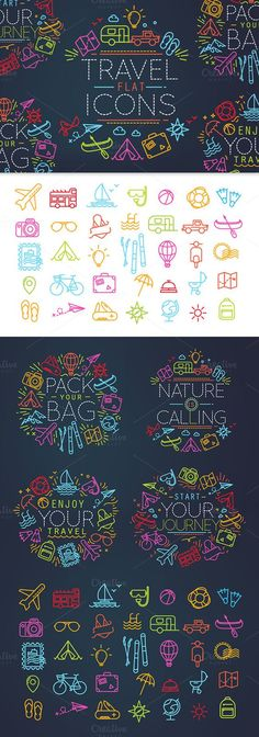 Download Vectors Travel Agency Logo 7 Free Logo inspiration - Chambre De Commerce Chalon Sur Saone