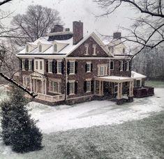 Built in 1901 Federal style. Kennett Pike, Greenville, DE