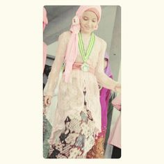 Hijab with kebaya