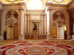 Salón de Columnas, Palacio Real de Madrid, Spain