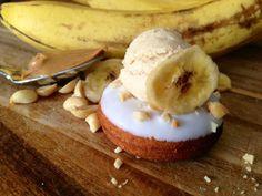 Elvis Mini Donuts Banana Peanut Butter by GreenMntMiniBaked, $17.00