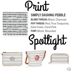 Print Spotlight for Spring/Summer 2017 Thirty-One - Simply Dashing Pebble #newcatalog #Carrie31Bags