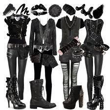 black veil brides type stuff..so i love it