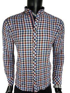 Koszula męska - - Koszule męskie - Awii, Odzież męska, Ubrania męskie, Dla mężczyzn, Sklep internetowy Types Of Shirts, Men's Shirts, Button Down Shirt, Men Casual, Plaid, Mens Tops, Clothes, Women, Fashion