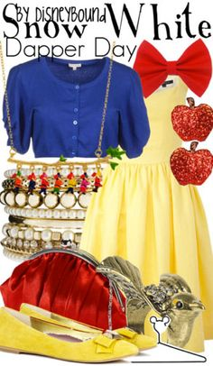 Snow White ... on the go ... DISNEYBOUND FROM: Buy it here!