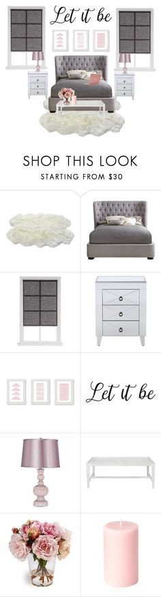 """""""Grey and Pink Scale BedRoom"""" by polancofernanda ❤ liked on Polyvore featuring interior, interiors, interior design, home, home decor, interior decorating, Nico, Incase and bedroom"""