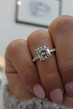 Bling bling! Look at that ring ... |pinterest: @BossUpRoyally [Flo Angel] #weddingring