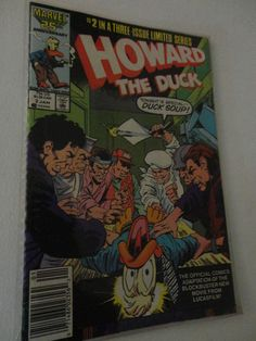 Vintage Marvel comic Book 25th Anniversary Ltd series Howard The Duck 1987 find me at www.dandeepop.com