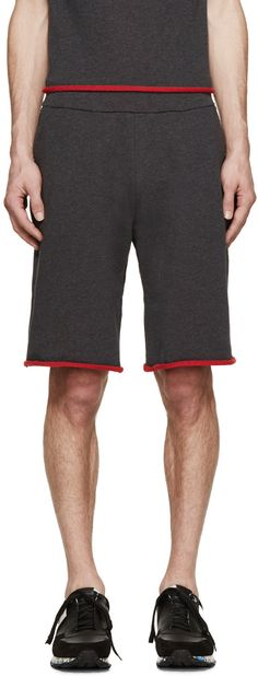 Christopher Kane - Grey French Terry Shorts