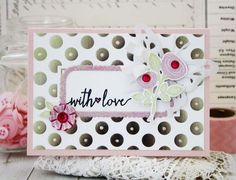 With Love Card by Melissa Phillips for Papertrey Ink (February 2015)