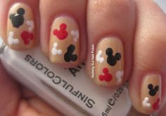 Disneyland mani!! :-)