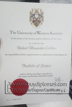 University of western Australia, Buy diploma, buy college diploma, buy university diploma, buy high school diploma, buy visa, buy passport, or anything you need. There are our contacts below:  Email: buydiploma@yahoo.com  QQ: 751561677  Skype, Cell, what's app, wechat:+86 17082892425  Website: www.buydiploma9.com