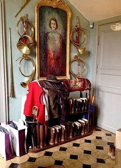 The private quarters of Jacques Garcia's Champ de Bataille