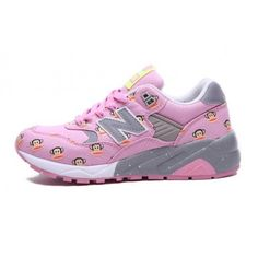 New Balance 580 Paul Frank Pink Grey Womens Sneakers Discount Discount of sixty percent