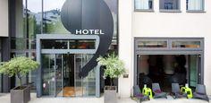 Ku' Damm 101 is a fun, Corbusier-inspired hotel in Charlottenburg.