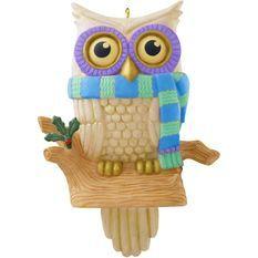 Whoooo's Watching - Christmas Ornaments - Hallmark
