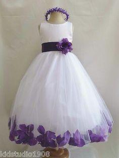 Shealey's flower girl dress!!