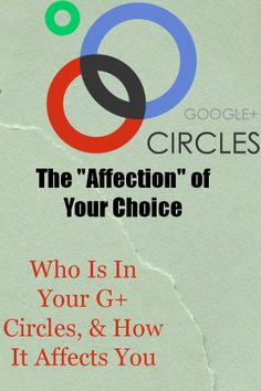 The power of your Google Plus circles & how it affects your #marketing #googleplustips