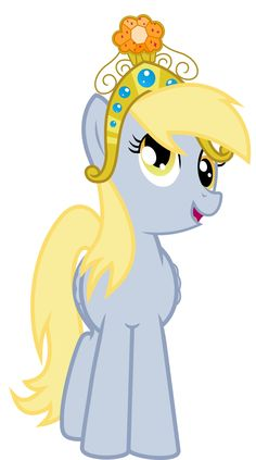 Derpy in her Big Crown Thingy by jaybugjimmies.deviantart.com @deviantART