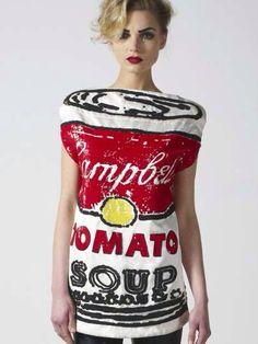 Tomato soup Campbell Dress.