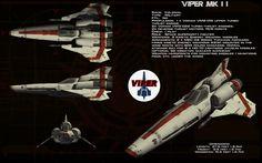 Colonial Viper Mk II ortho by unusualsuspex on DeviantArt Star Wars Ships, Star Trek, Space Fighter, Sci Fi Models, Sci Fi Ships, Battlestar Galactica, Geek Culture, Pop Culture, Space Crafts