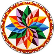 How much do you know about hex signs? Many barns in Pennsylvania are decorated with barn stars or hex signs, but not many people know their true origin and meaning. Pennsylvania Dutch, Mandala Drawing, Mandala Art, Barn Art, Rangoli Designs, 3d Rangoli, Barn Quilts, Mandala Pattern, Book Of Shadows