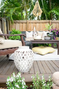 Bring Your Indoor Decor Outdoors