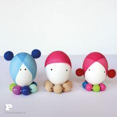 Cinco ideas para decorar huevos de Pascua : Decora tus huevos de Pascua de forma original y sencilla, compartimos proyectos que puedes realizar en casa con los niños, todos súper divertidos, se lo pa